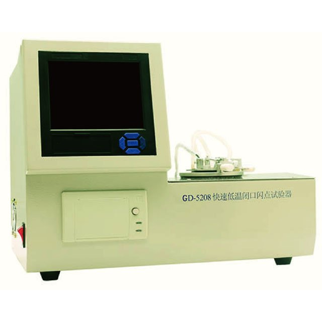 GD-5208 Rapid Low Temp. Automatic Flash Point Tester