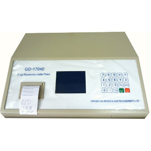 GD-17040 Lab Instrument Crude Oil X Ray Fluorescence Diesel Sulfur Analyzer Astm d4294