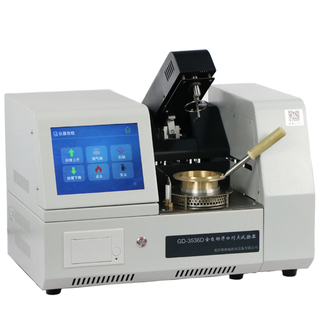 GD-3536D Fully-Automatic Cleveland Open-Cup Flash Point Tester(Touch screen)