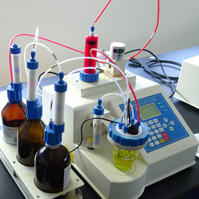 Automatic Volumetric Karl Fischer Titrator